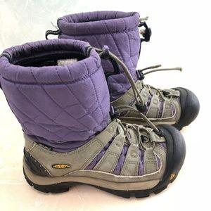 Keen Women's Winter Boots Warm Purple 6.5
